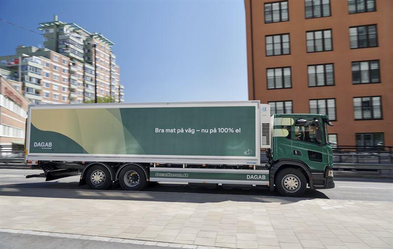 Dabab Scania helelektrisk