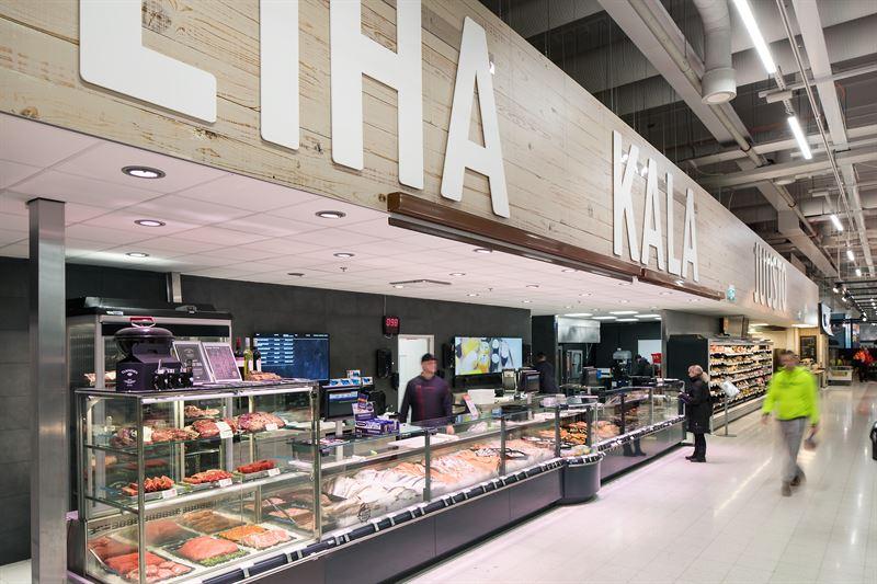 Sami Hertell ja Anne-Mari Kohtamäki, K-citymarket Vihti Nummela