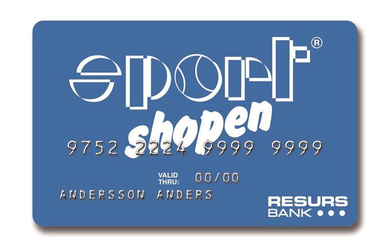 Kundvänligt och flexibelt när Sportshopen och Resurs Bank