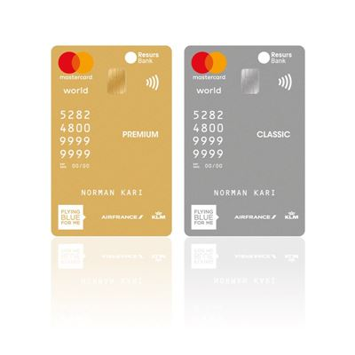 Innovativt kortdesign fra Resurs Bank