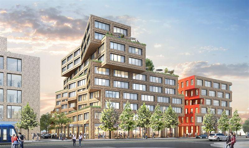 Hotel an der Berg-am-Laim Straße Planung HWKN Arte Invest Real estate Scandic