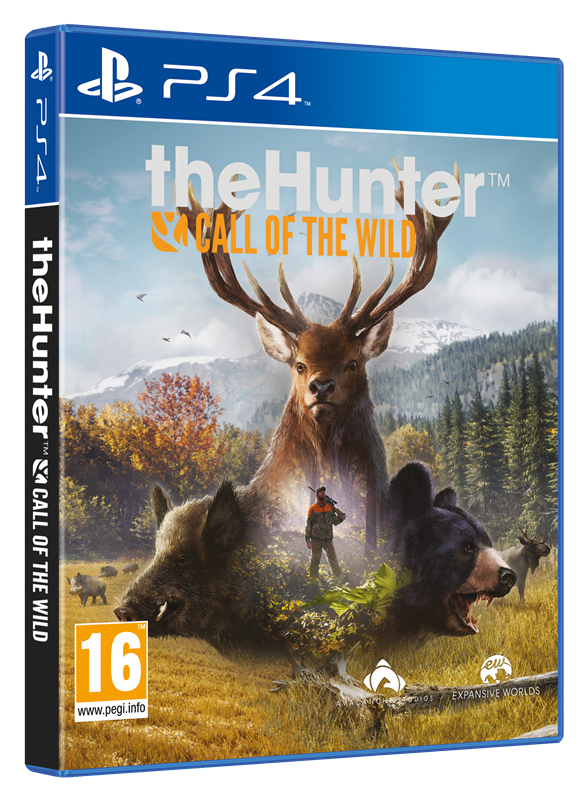 Thehunter Cotw Ps4 Pegi 3d Rgb Astragon Entertainment Gmbh