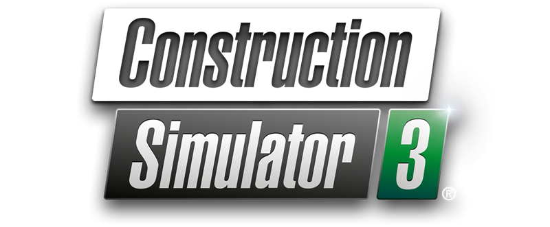 Construction Simulator 3 Logo ENG