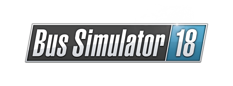 Bus Simulator 18  Logo RGB