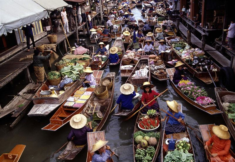 Ett besök på marknaden | Mammalivet på landet