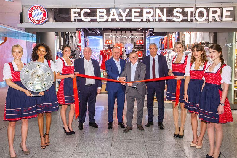 Opening Fc Bayern Munich Shop Munich Airport Flughafen Munchen