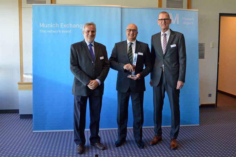 2018 Munich Exchange Award goes to Air Malta - Flughafen München