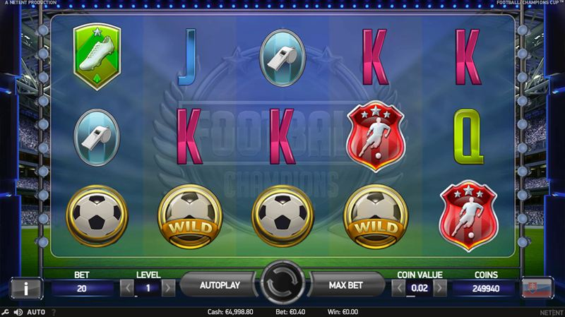 football champions cup screenshot main