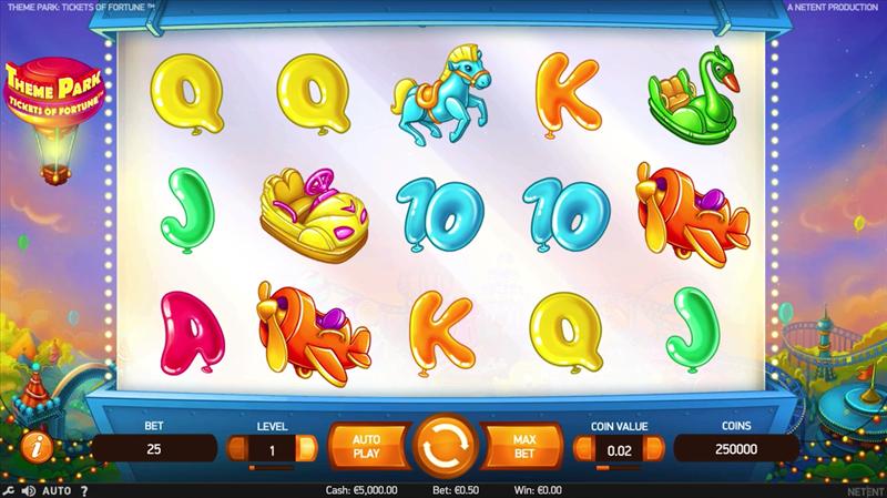 screenshot theme-park main