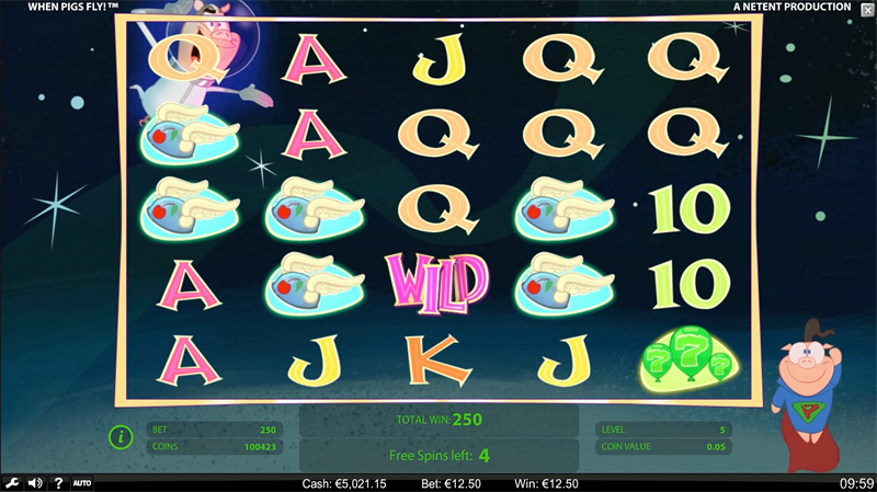 screenshots WPF Freespins