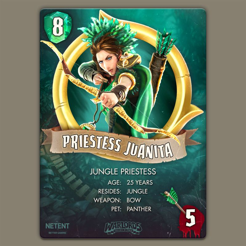 priestessi hearthstone card