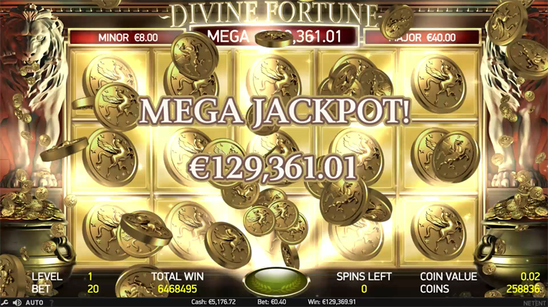 09 screenshot DivineFortune MegaJackpot Win