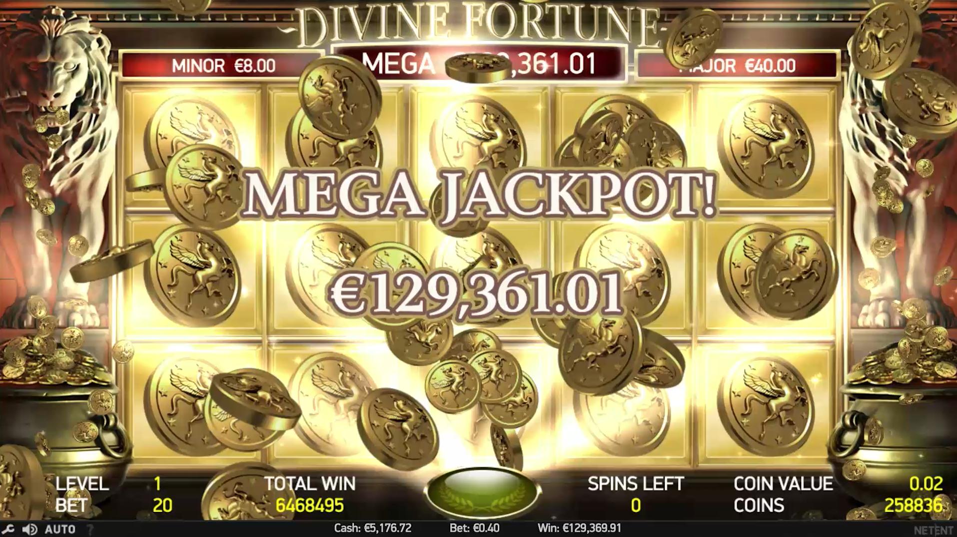 Divine Fortune Mega Jackpot