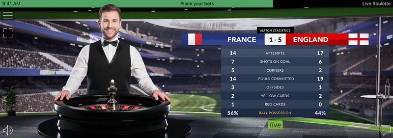 PR Image NetEnt Live World Cup Roulette