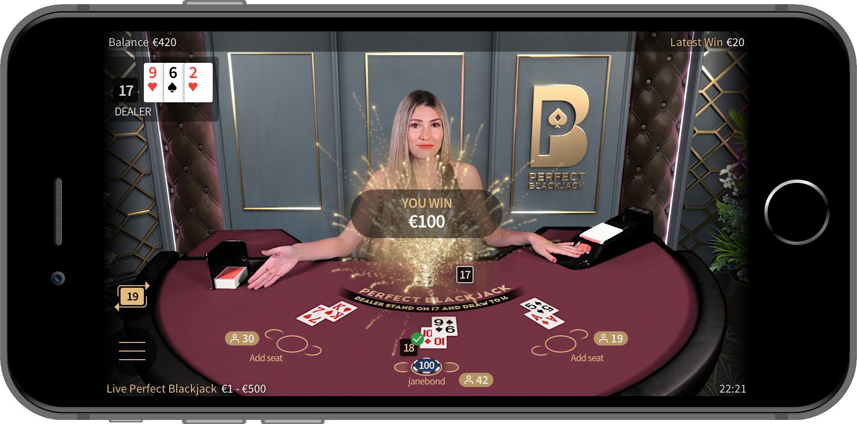 Netent perfect blackjack games