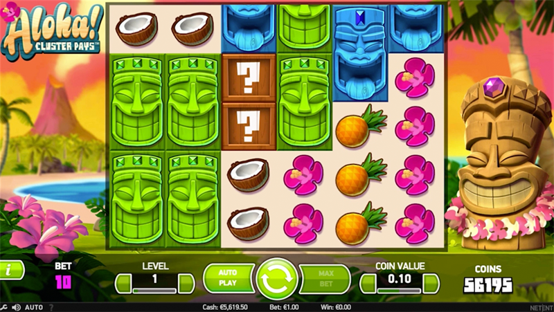 screenshot Aloha cluster pays desktop substitution