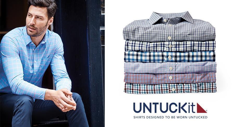Ny partner UNTUCKit® lanserar den ultimata herrskjortan tillsammans med Polygiene