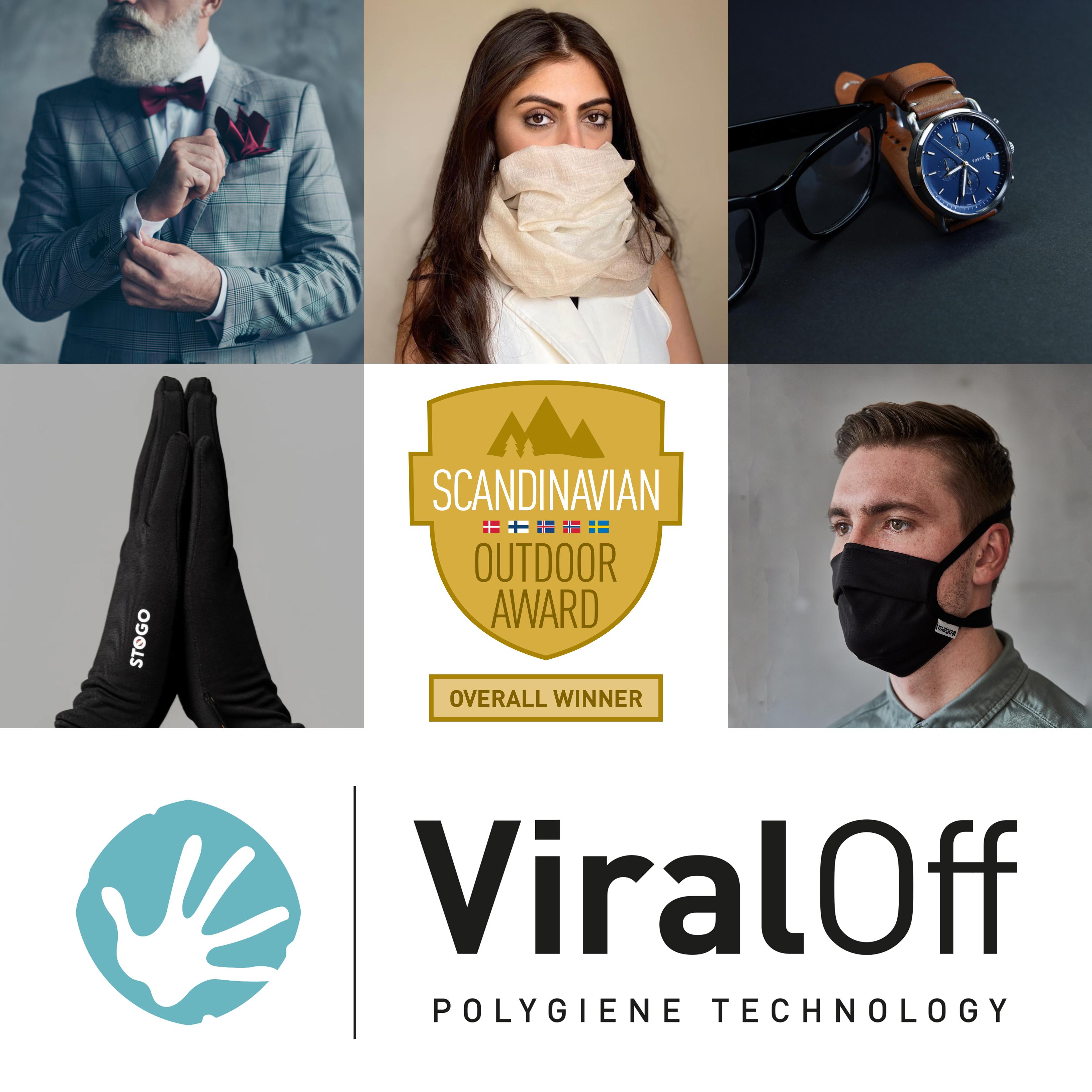Polygiene totalvinnare i Scandinavian Outdoor Group (SOG) awards 2020