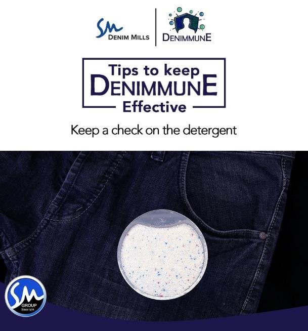 "SM Group lanserar ""Denimmune"", tyger behandlade med Polygiene ViralOff®"