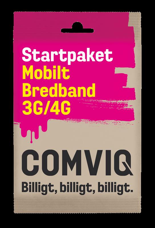 comviq mobilt bredband 4g kontant