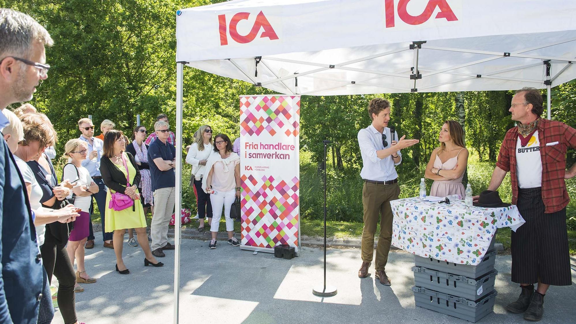 ICA i Almedalen 2016