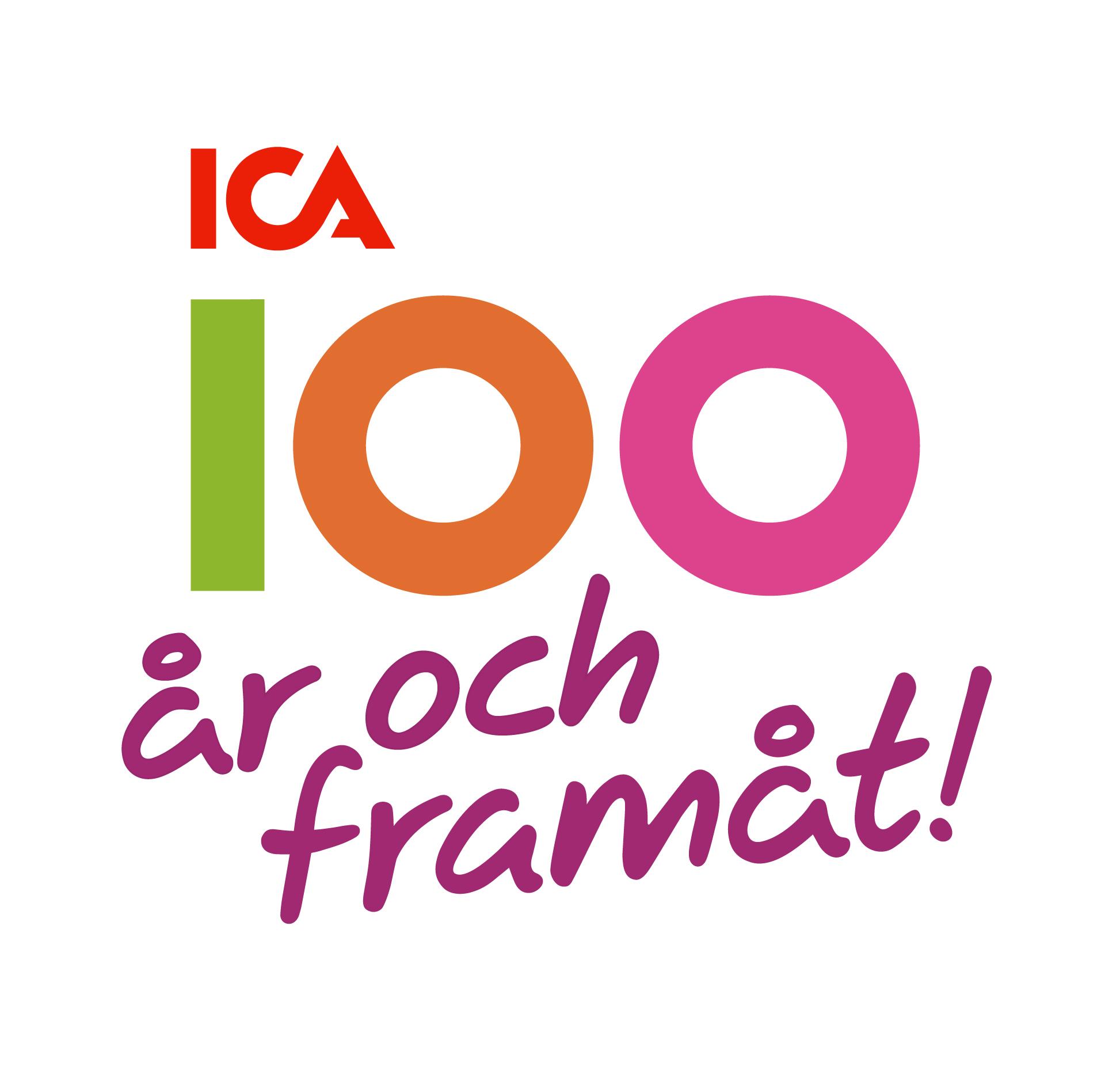 ICA fyller 100 år och blickar framåt