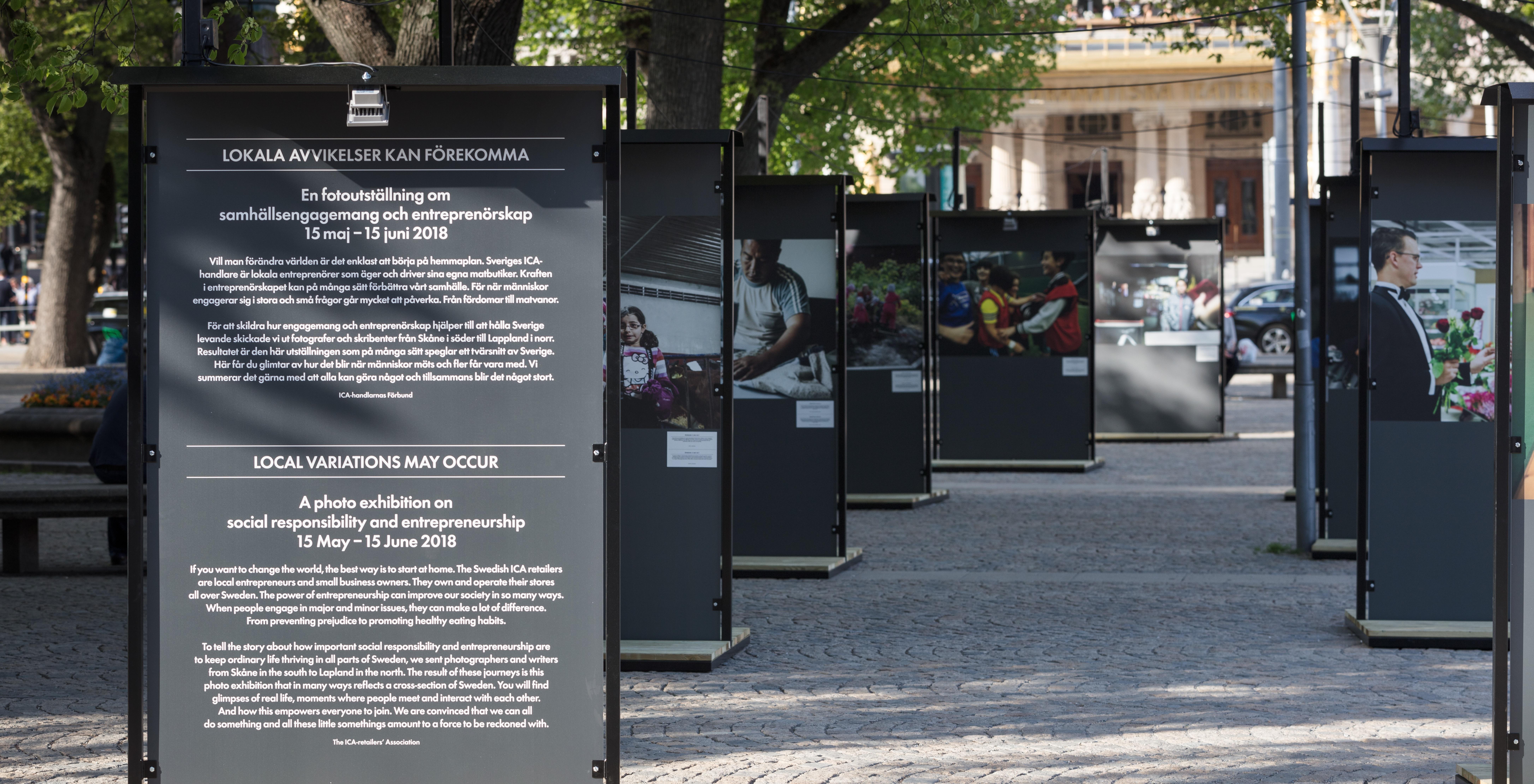 Premiär! Ny fotoutställning på Raoul Wallenbergs Torg (15 maj-15 juni)
