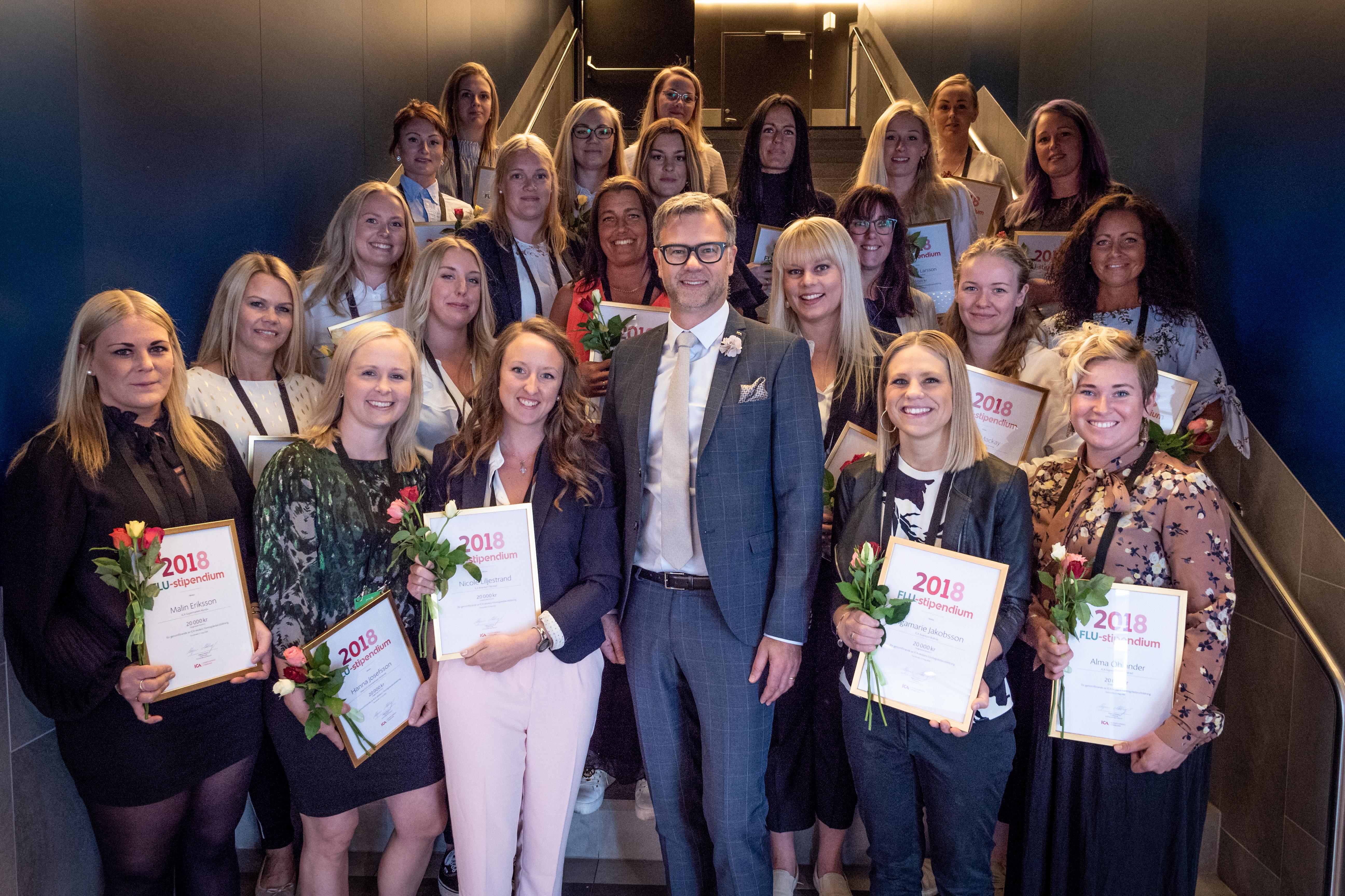 ICA-handlarna premierar 23 kvinnor som vill göra karriär