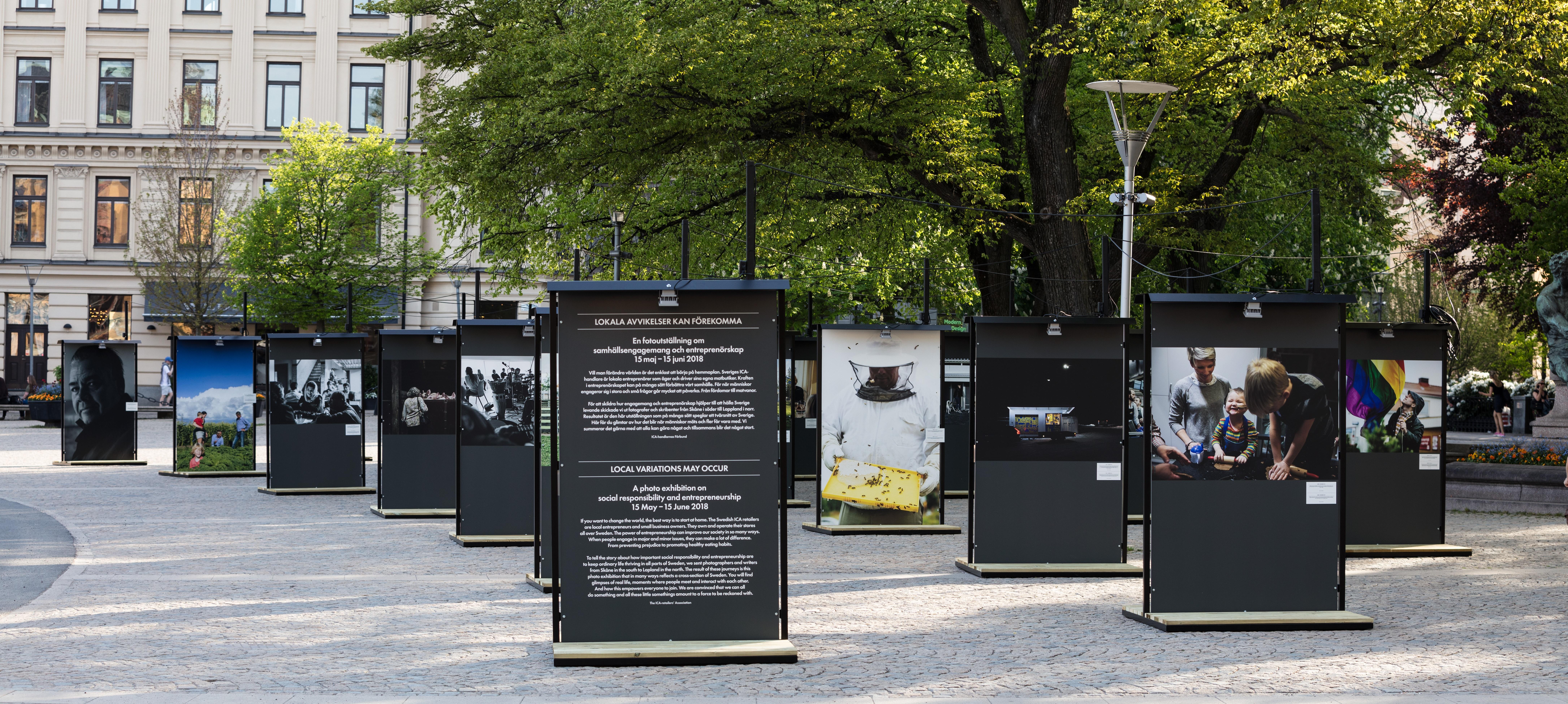 Västerås - nästa stopp för fotoutställningen Lokala avvikelser kan förekomma