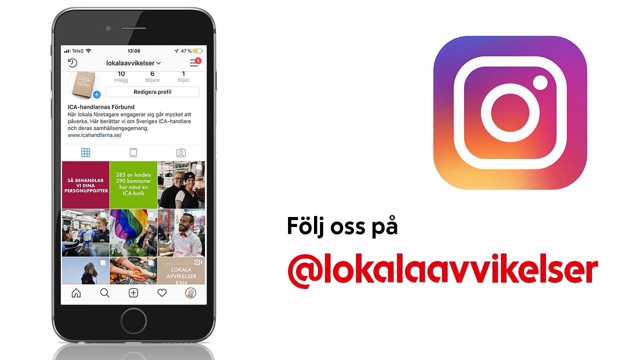 Följ @lokalaavvikelser på Instagram