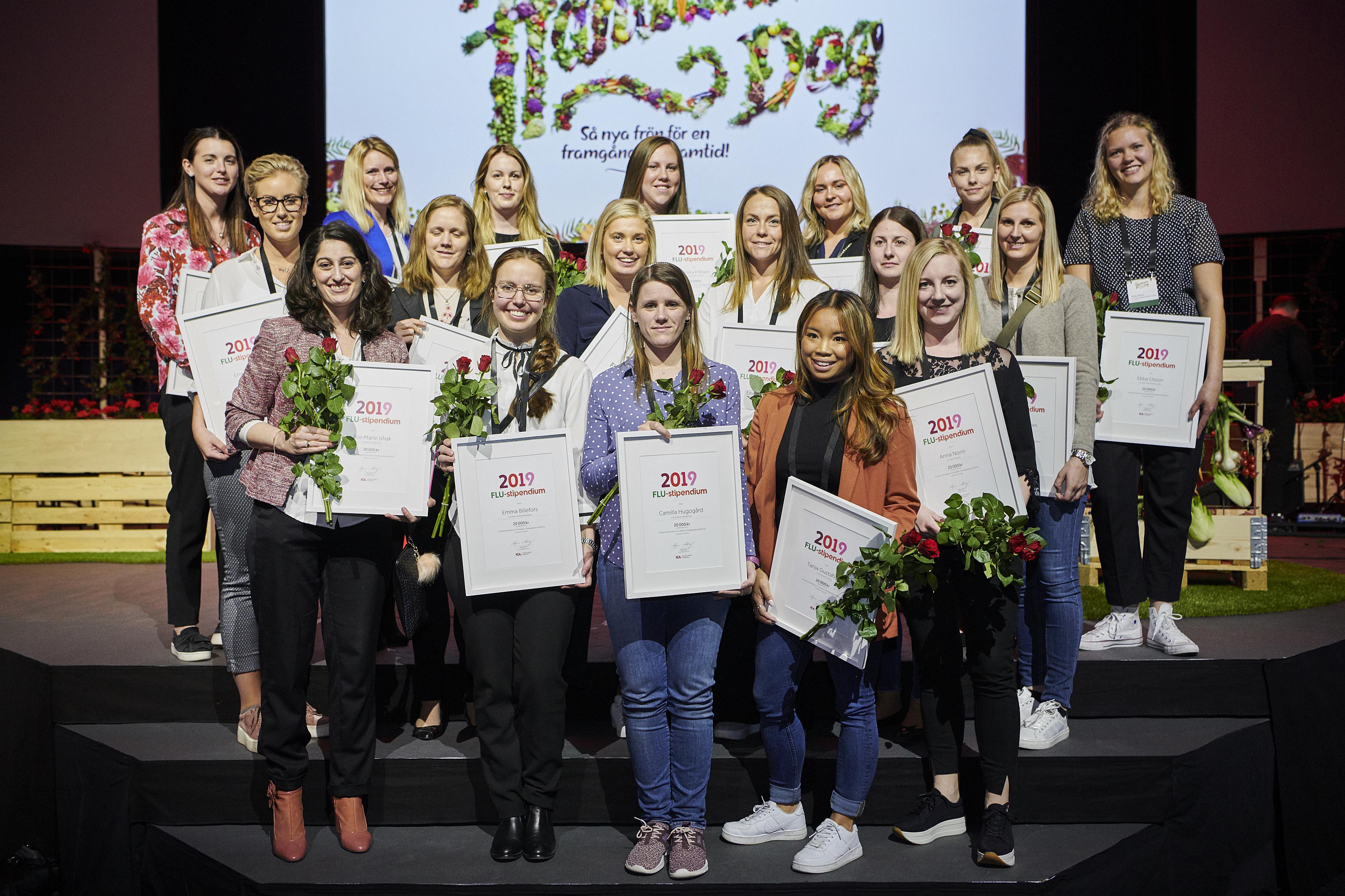 Framtidens ICA-handlare får stipendium - totalt 21 kvinnor