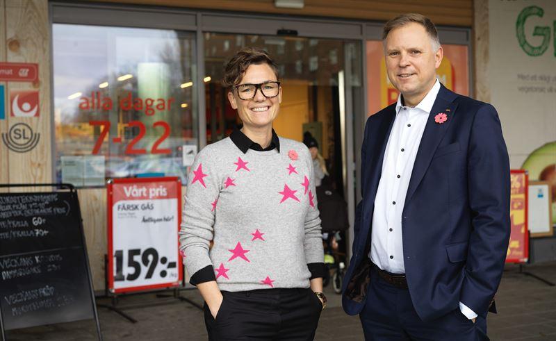 Magnus Moberg och Mathilda Westerman