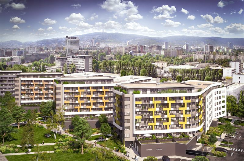 YIT starts the construction of a significant area project in Bratislava 55b1d8c0e42
