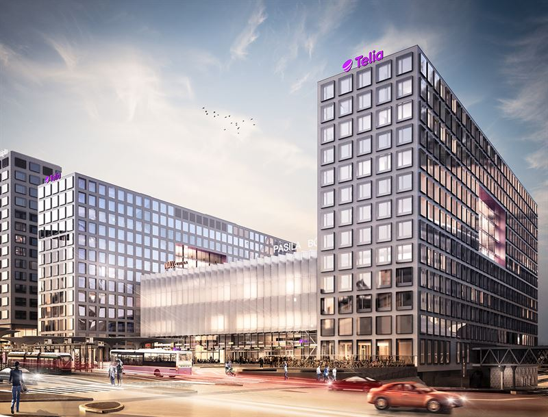 YIT and Telia Finland agree on leasing the Tripla offices | YITGROUP.COM