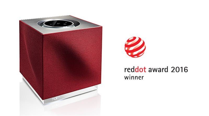 Naim Wins Prestigious Red Dot Award For The Second Year Product