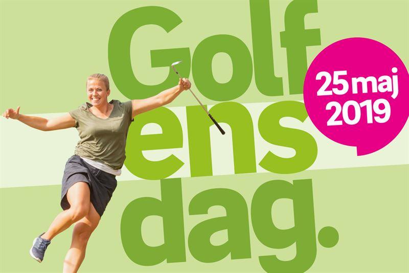 Kampanjbild Golfens dag 2019