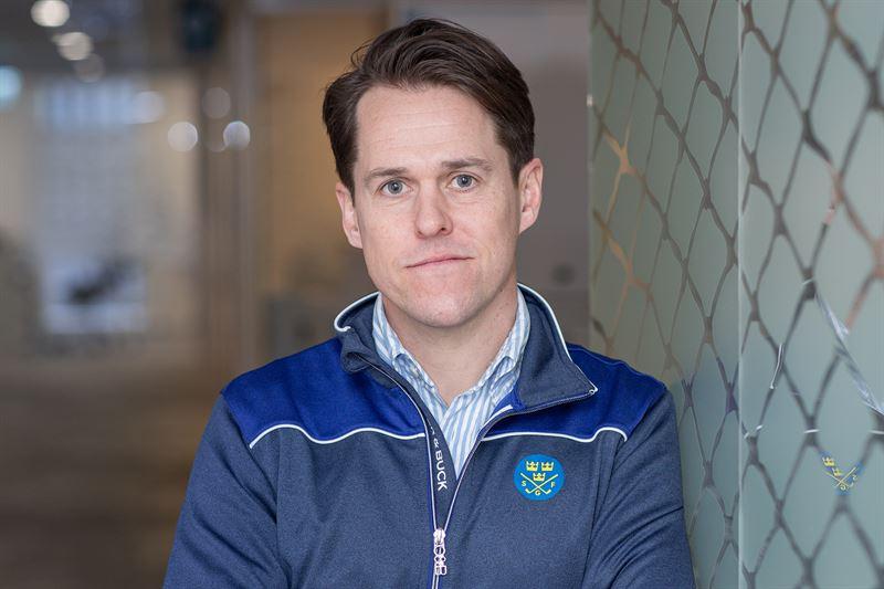 Marcus Norman tilltrdde nya rollen som sportchef p Svenska Golffrbundet i november 2020