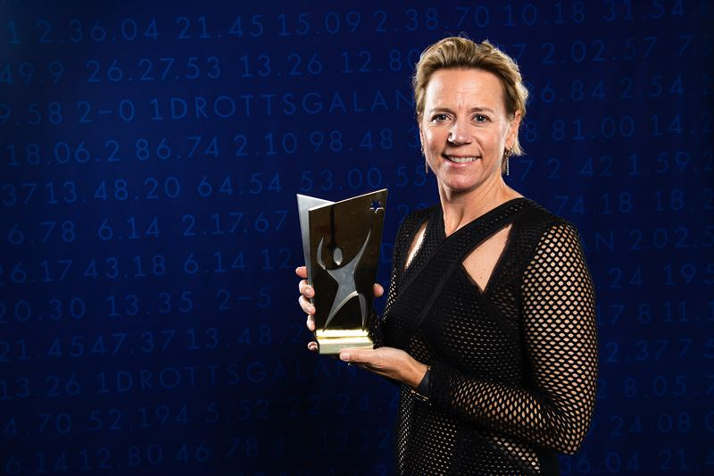 Annika Srenstam mottog Idrottsakademins Hederspris vid Idrottsgalan den 27 januari 2020