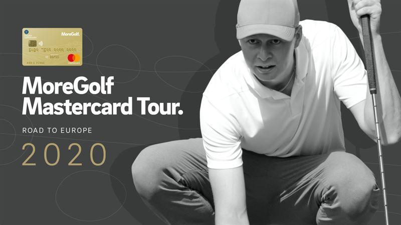 Kampanjbild MoreGolf Mastercard Tour 2020
