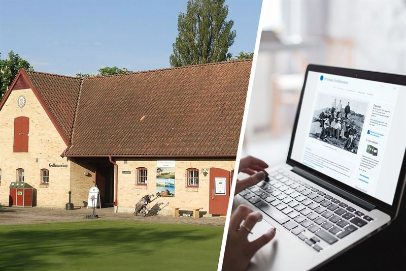 Svenska Golfmuseet p Landskrona GK samt svenskagolfmuseetse