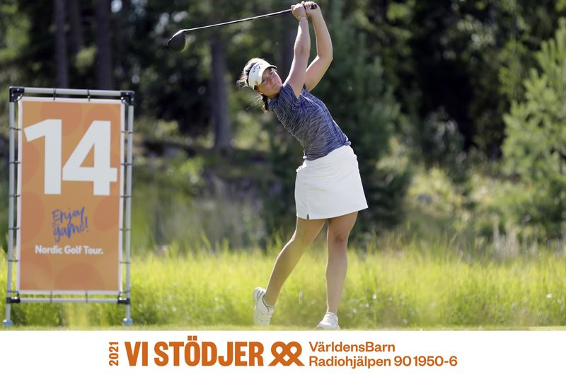 Linn Grant vid Nordic Golf Tourtvling 2020