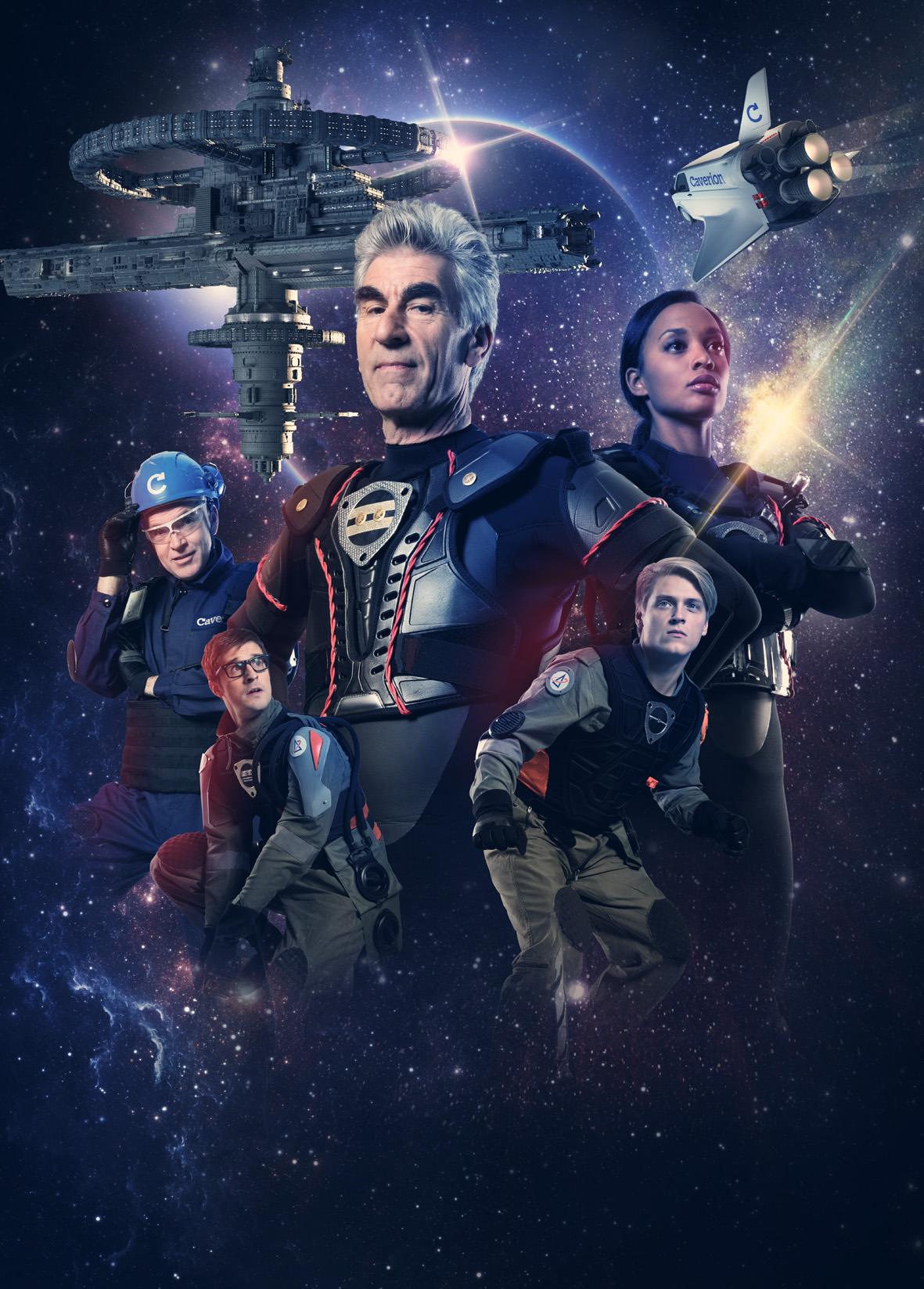 Caverion Space saga crew