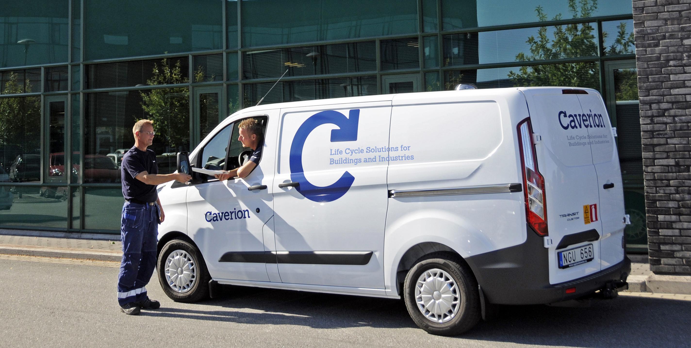 Caverion-car
