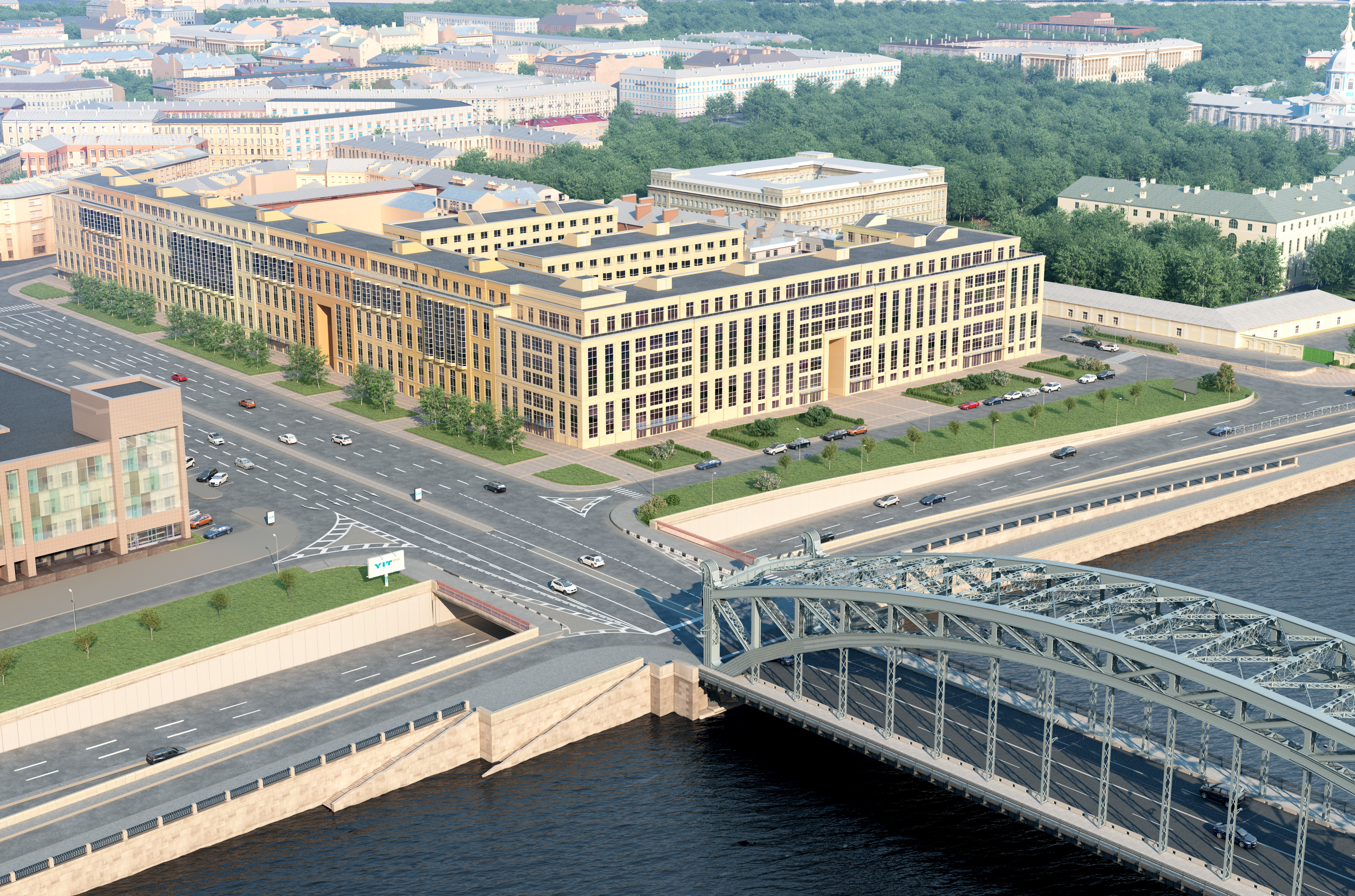 Smolny residential complex-StPetersburg-source YIT