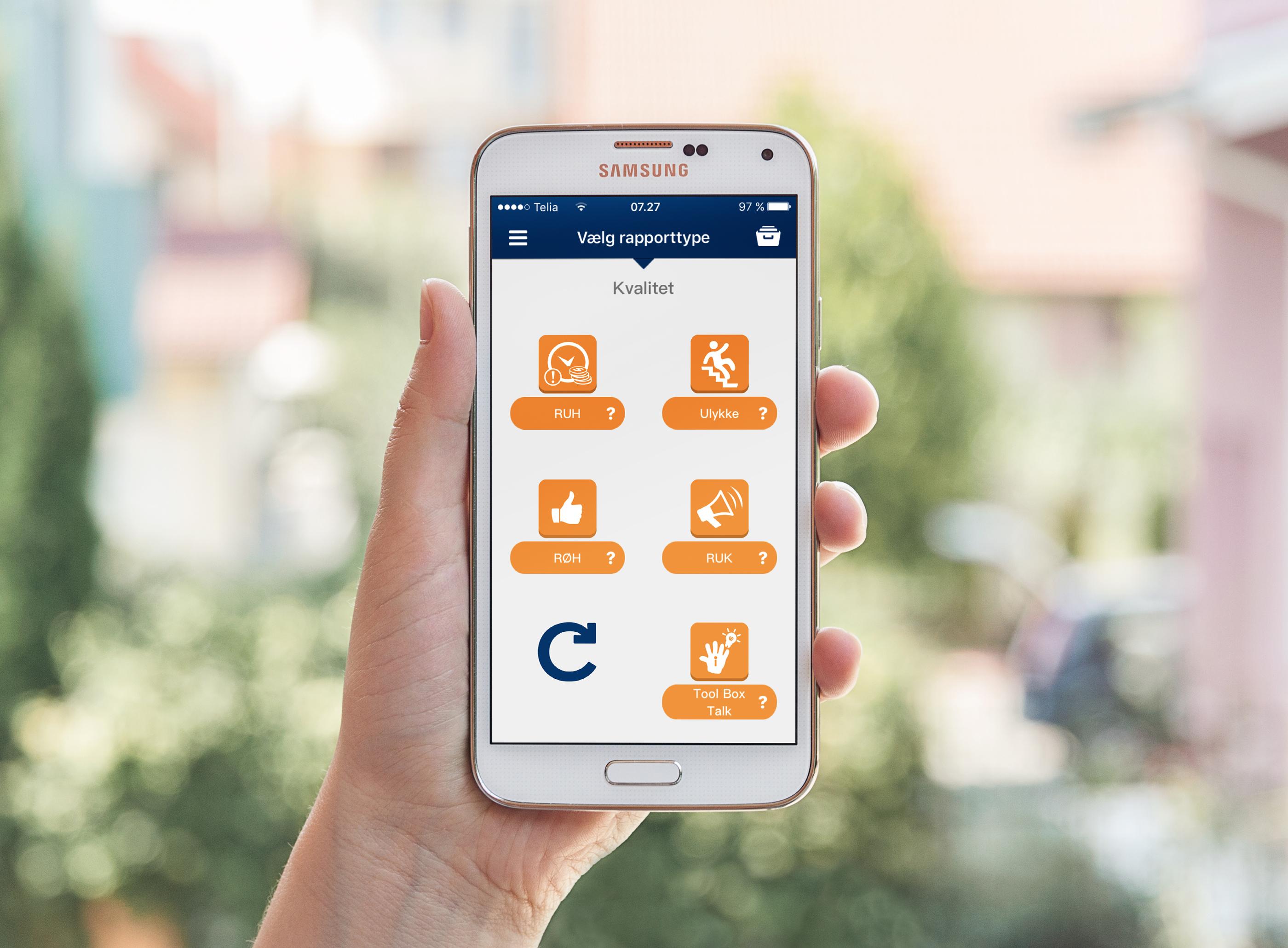 Caverion-hse-app