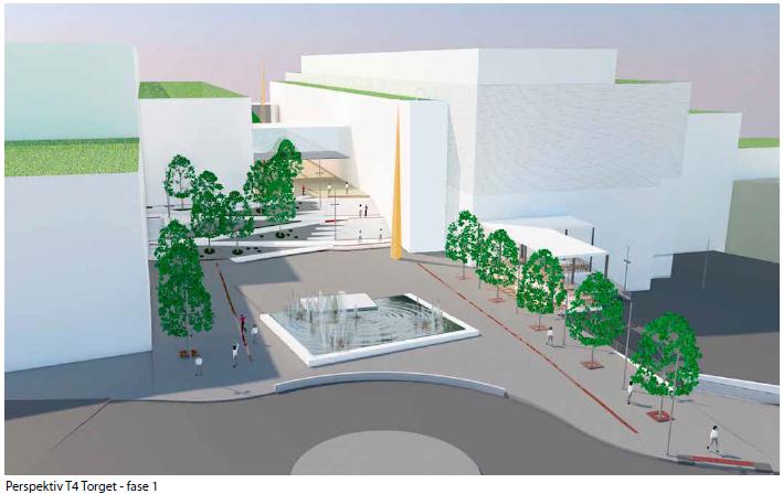 New shopping mall Bergen Copyright Hille Melbye Arkitekter