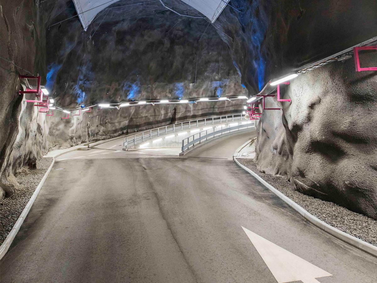 Bergrumsgaraget © Caverion GmbH