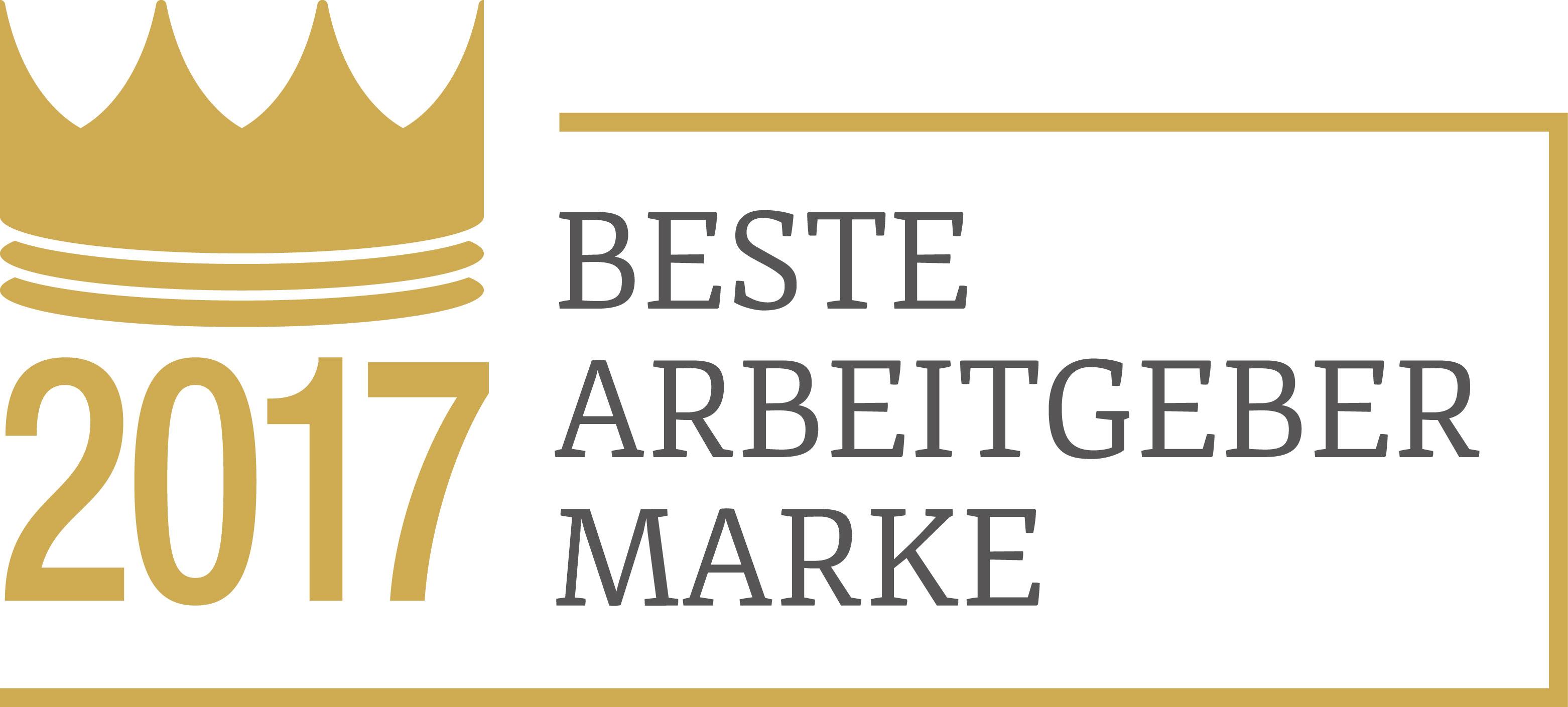 """Caverion ist """"Beste Arbeitgebermarke 2017"""""""
