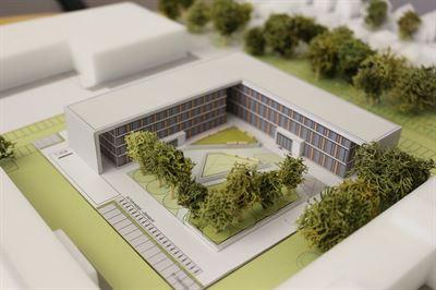 Das neue Multifunktionsgebäude © Stromnetz Hamburg GmbH