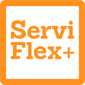ServiFlex Icon Orange RGB 220w